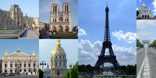 パリ観光サービスイメージ