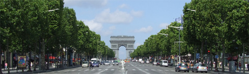 パリ凱旋門